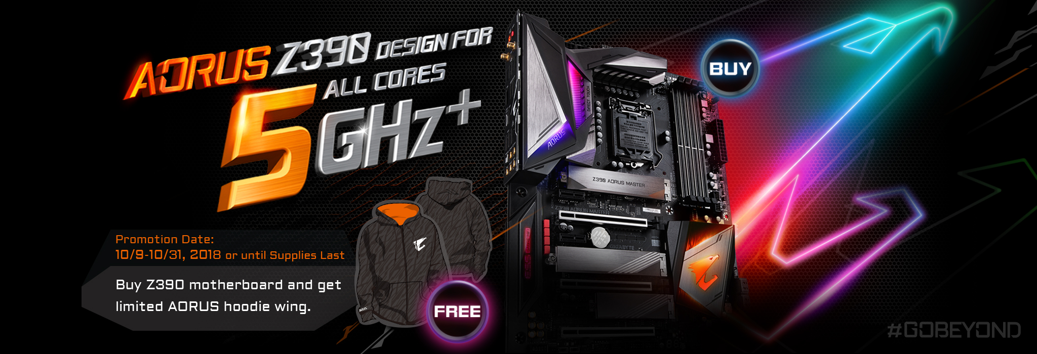 AORUS ALL CORES 5G_Z390 BUNDLE PROMOTION_MY | AORUS