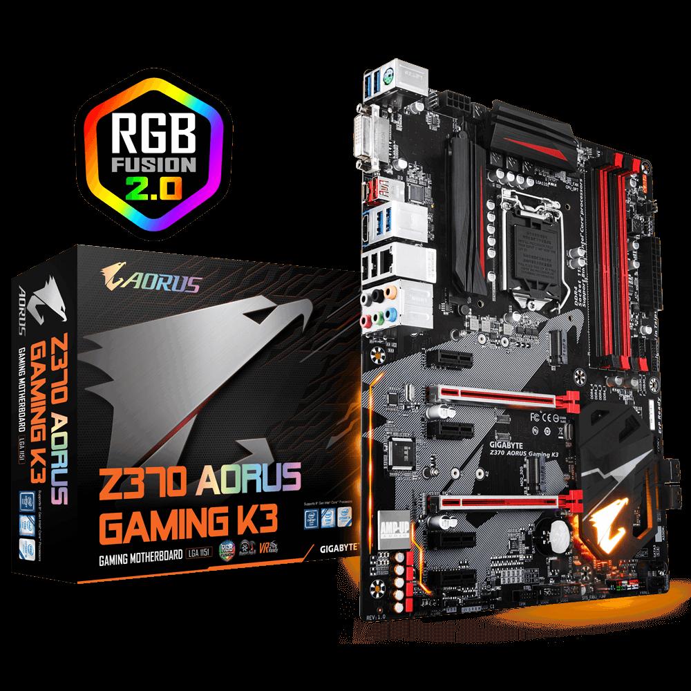 Z370 AORUS Gaming K3 | AORUS
