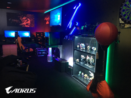 AORUS Sets Up Gamers' Paradise at COMPUTEX 2018