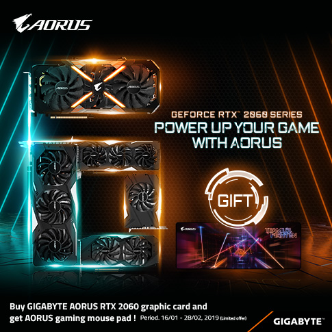 POWER UP YOUR GAME WITH AORUS RTX2060_MALAYSIA