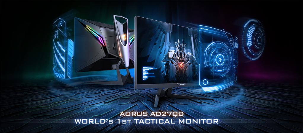 The story behind GIGABYTE AORUS' development of the AD27QD gaming monitor