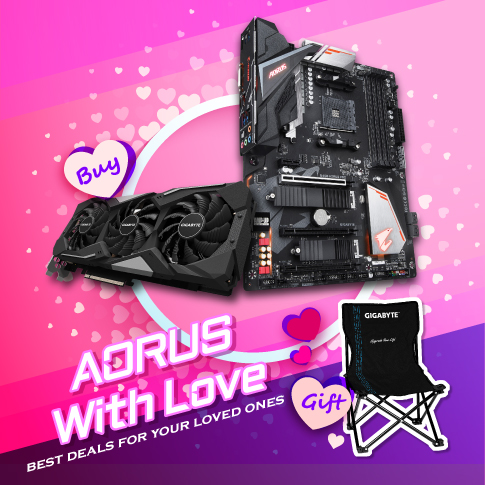 [MY] AORUS WITH LOVE