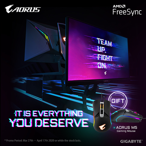 [MY] MONITOR PROMO: EVERYTHING YOU DESERVE