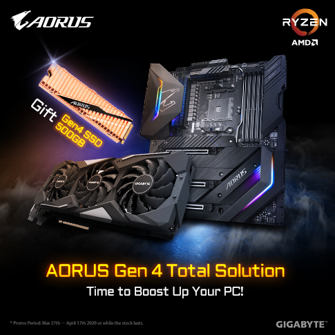 [MY] AORUS GEN4 TOTAL SOLUTION
