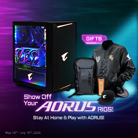 Show Off Your AORUS Rigs!