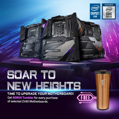 [MY] INTEL Z490, SOAR NEW NEW HEIGHTS