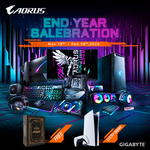 [MY] AORUS CELEBRATION FESTIVAL (Luck Draw - PS5)